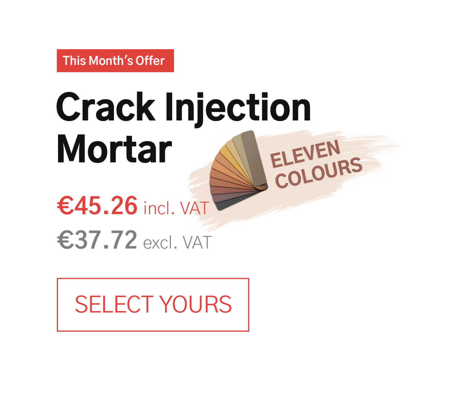 Crack Injection Mortar IE