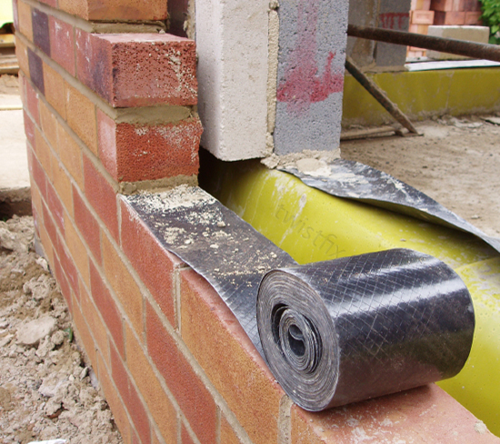 Damp Proof Membrane : Damp proof course twin pack