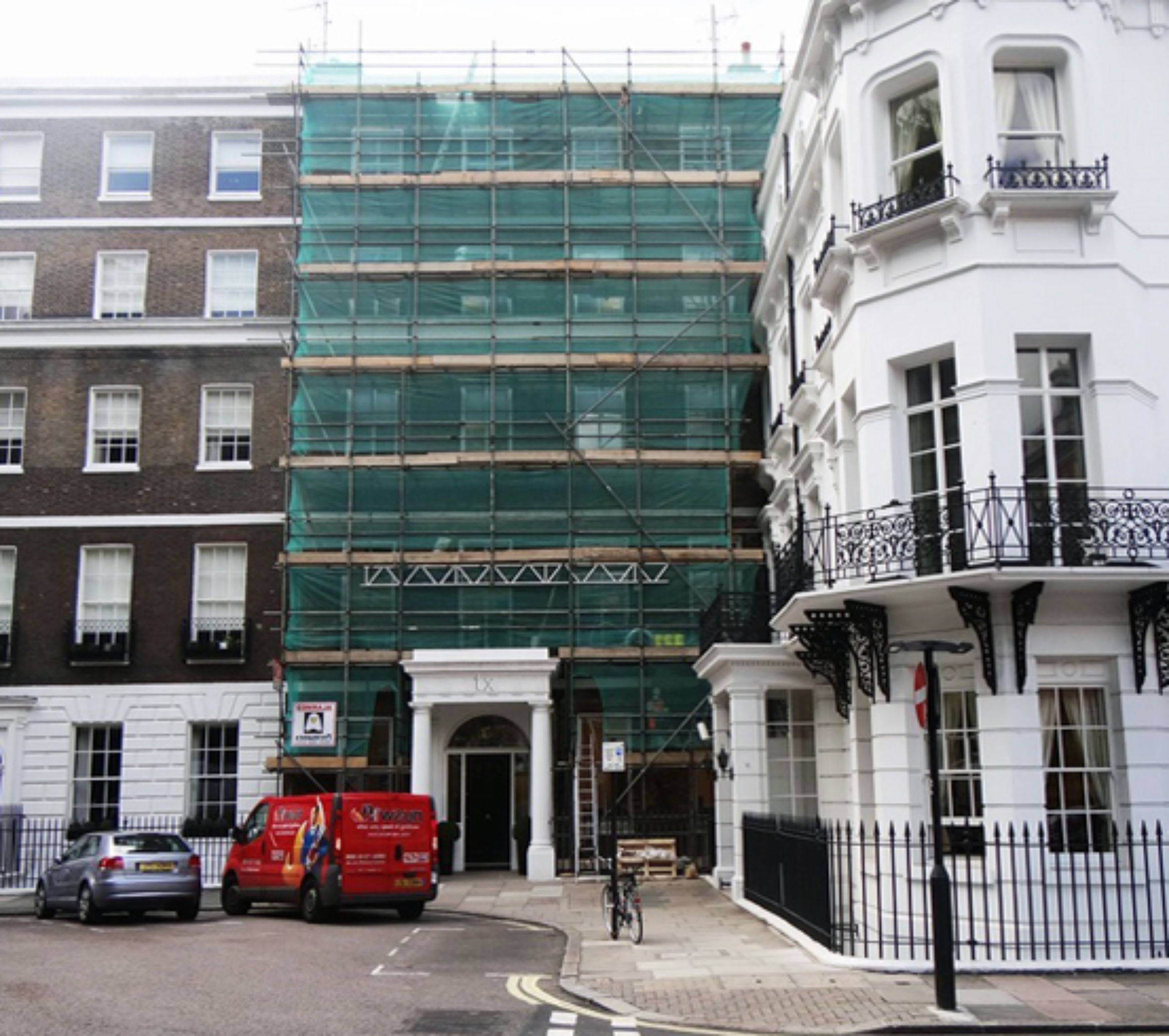 lintel rinforcement project marylebone