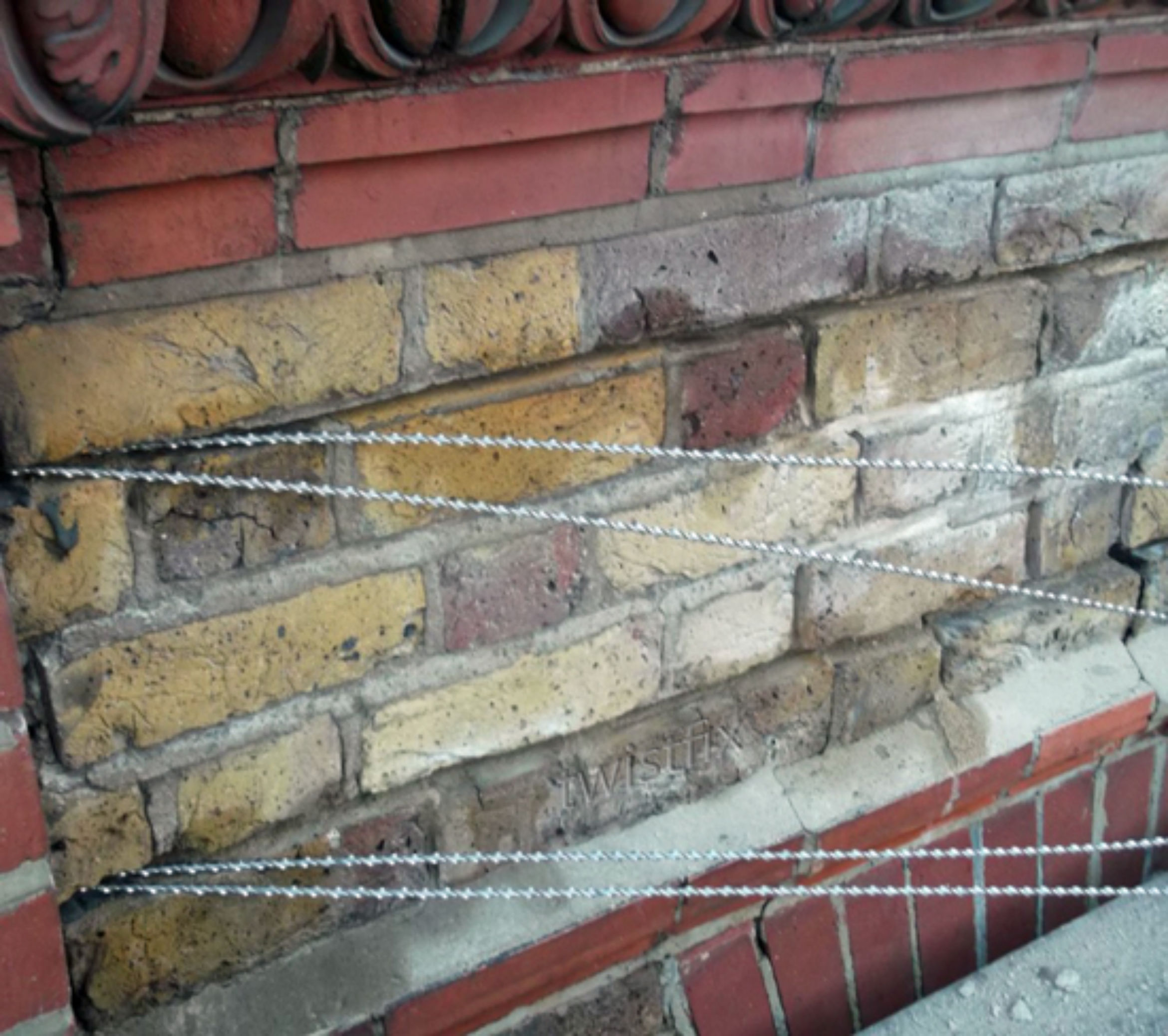 twistfix bars repair cracks