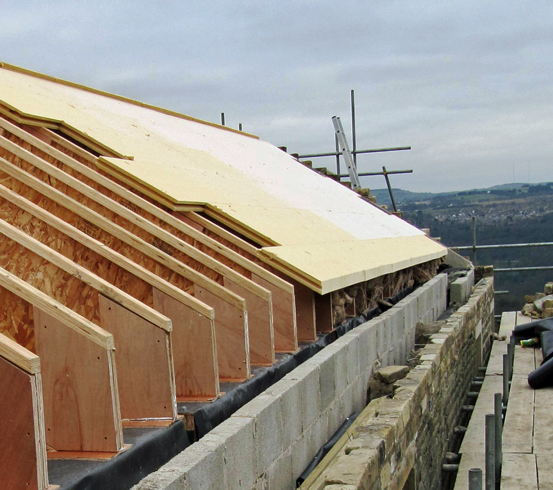 Insulation Above Roof : Warm roof construction things to consider