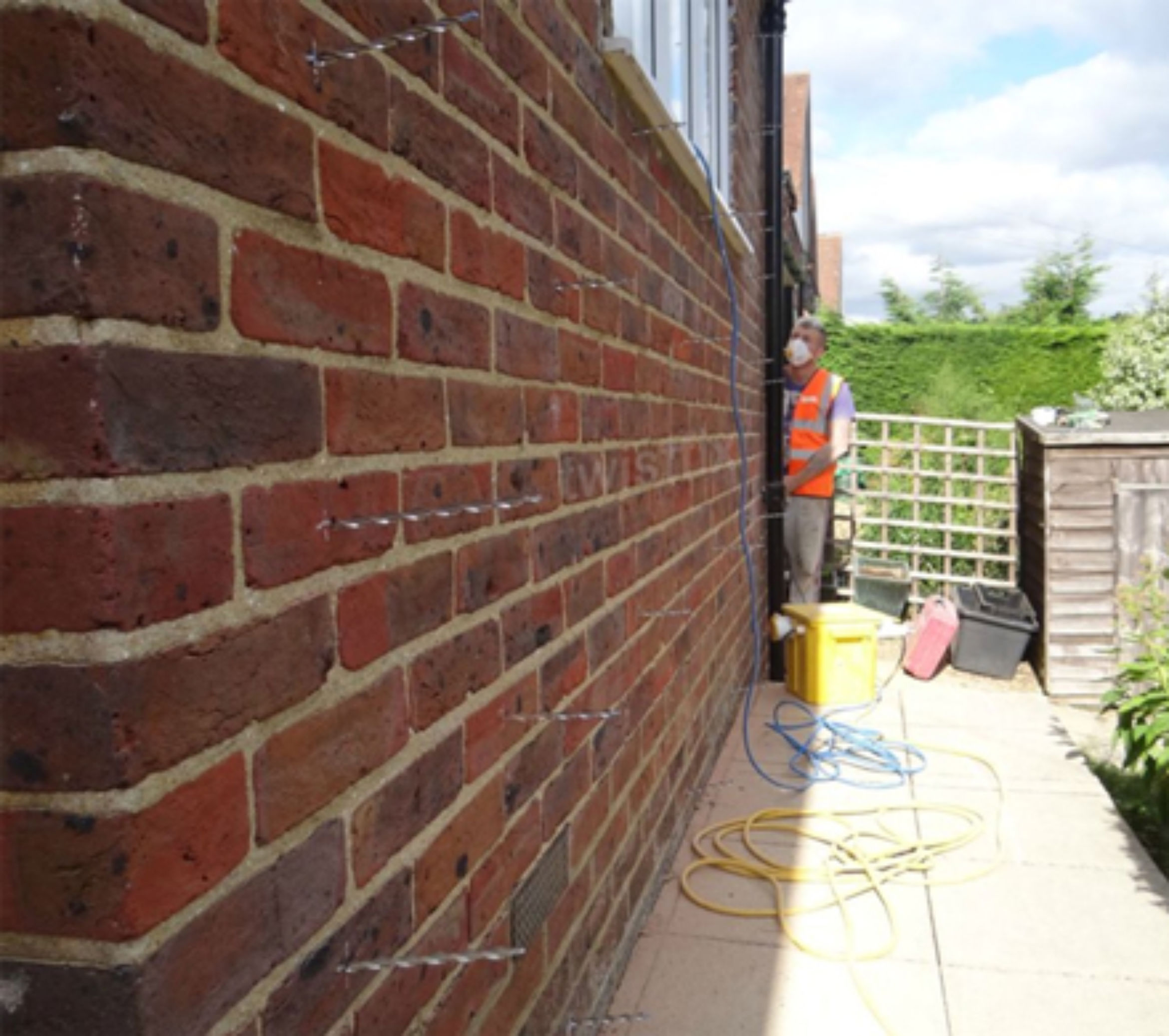 wall tie replacement surrey