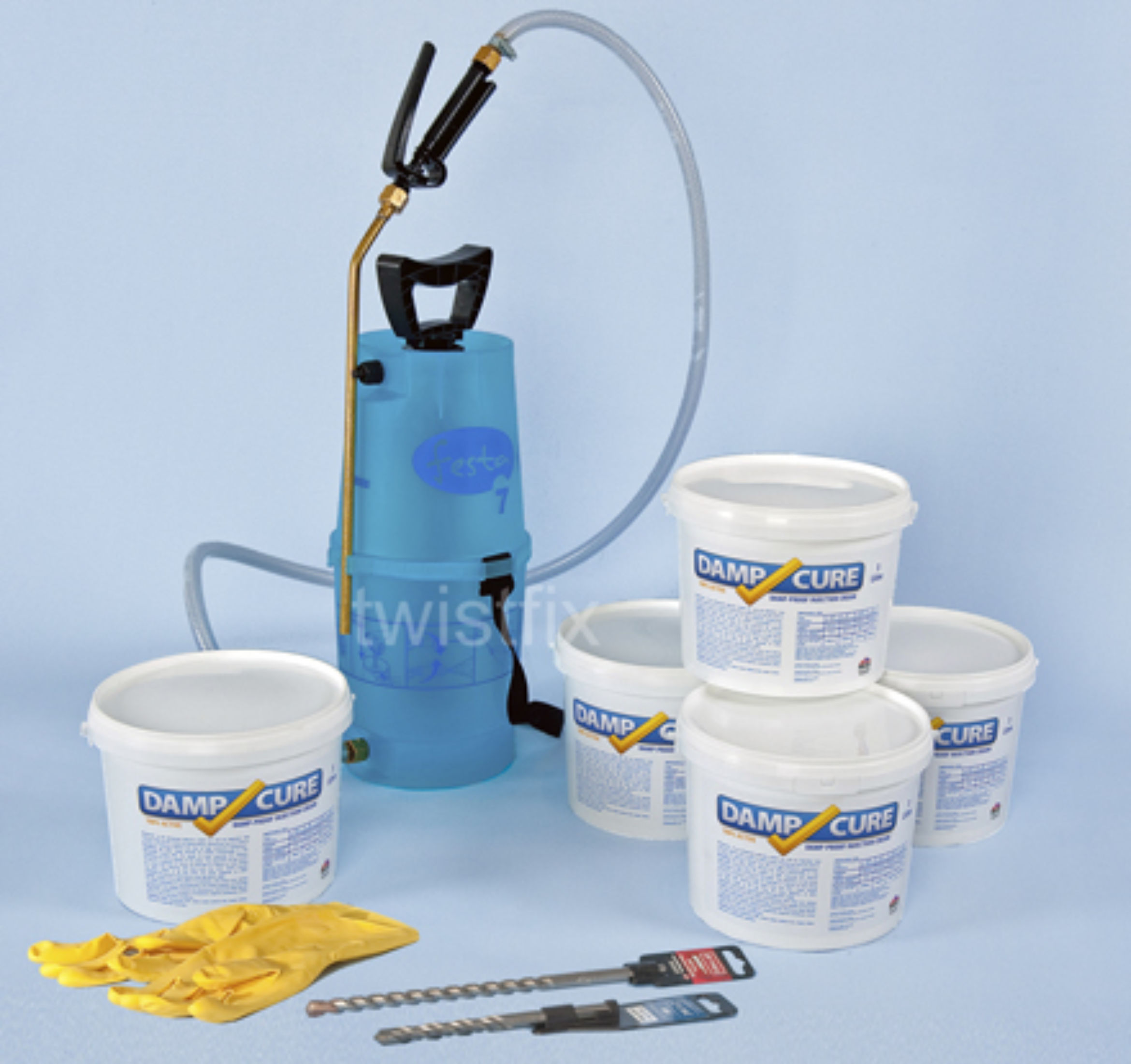 damp proof injection kit 3000 pro