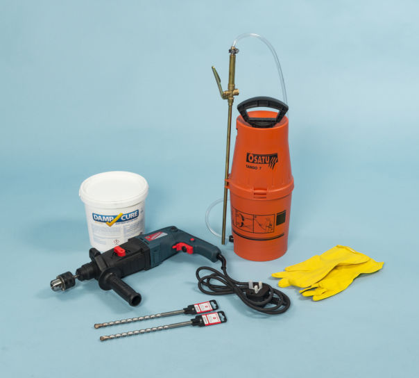 Damp Proof Course 3ltr Injection Kit