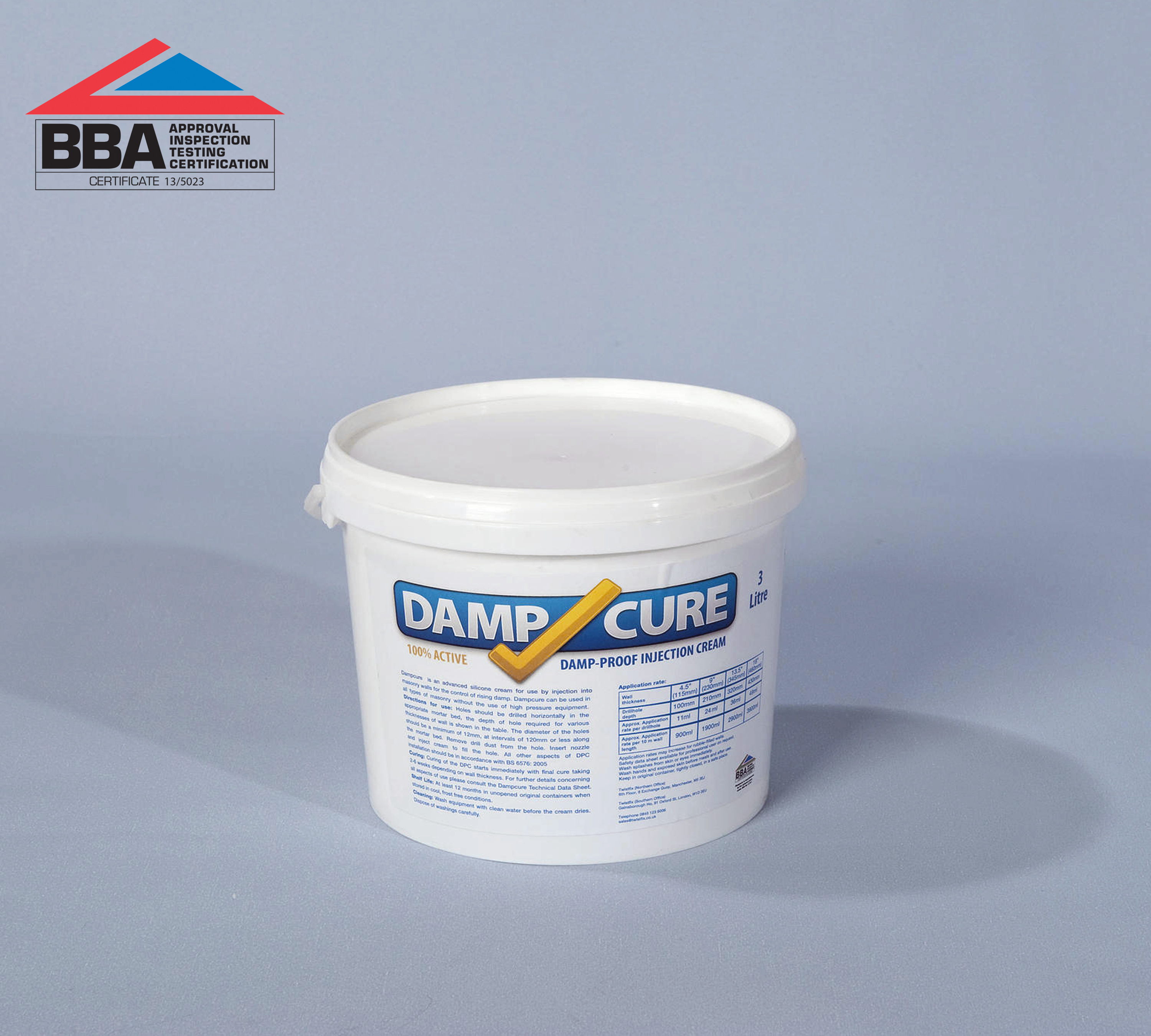 Rising Damp Treatment - Dampcure 3000 Cream