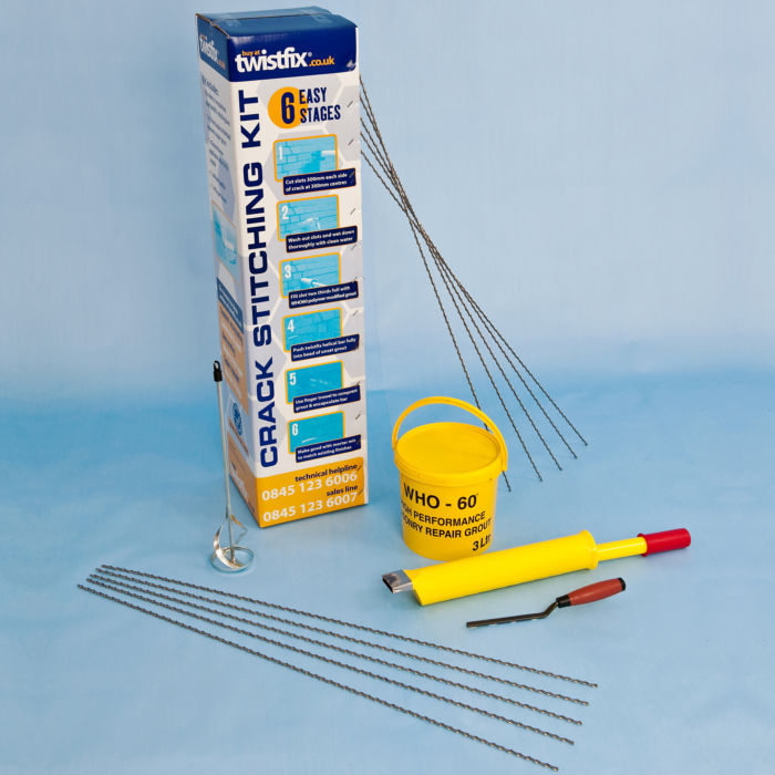 Masonry Crack Repair Kit
