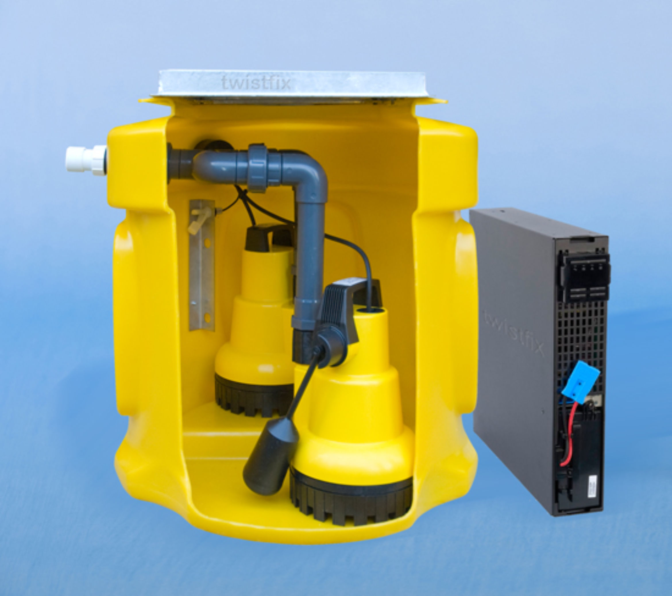 double sump pump extra