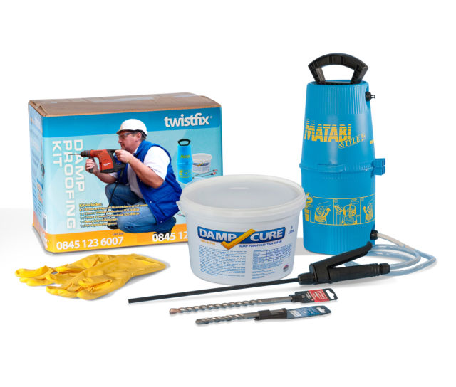 DPC Injection Cream - Damp Cure 6000 Kit