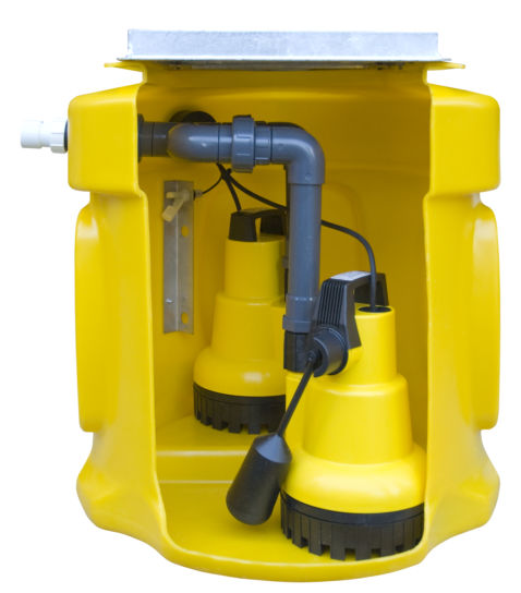 Basement Pump Plus Kit